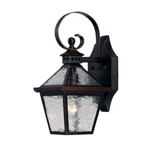 Britton 1-Light Outdoor Wall Lantern