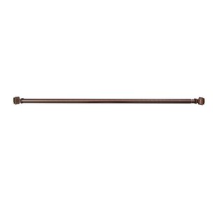Orb Shower Curtain Rod.Oil Rubbed Bronze Shower Curtain Rods You Ll Love In 2019 Wayfair