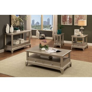 Mcelfresh 4 Piece Coffee Table Set