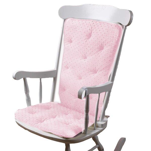 Charmant Pink Soft Rocker | Wayfair
