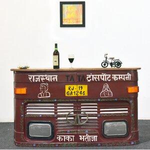 Hausbar mit Weinregal von TheWoodTimes