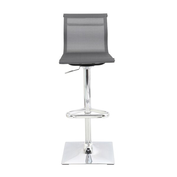 Superb Modern Contemporary Gale Adjustable Height Swivel Bar Ncnpc Chair Design For Home Ncnpcorg