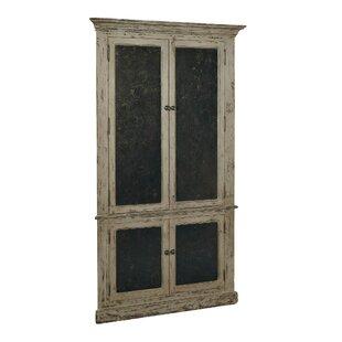 corner 4 door accent cabinet - Corner Linen Cabinet