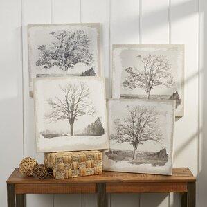 Tree Wall Decor (Set of 4)