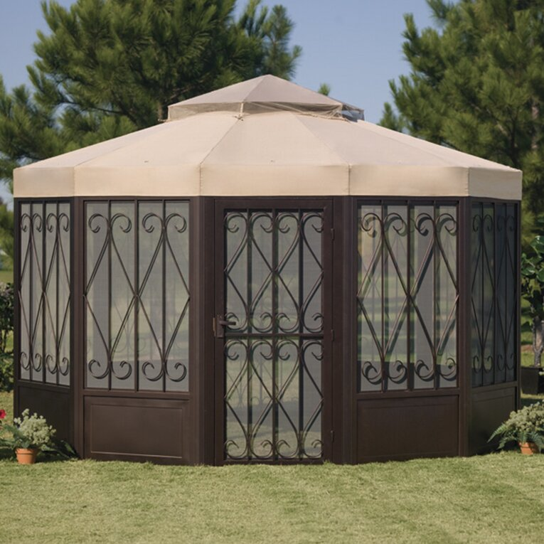 Replacement Canopy For Sunhouse Gazebo