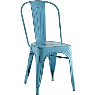 Delicieux Turquoise Metal Chair | Wayfair
