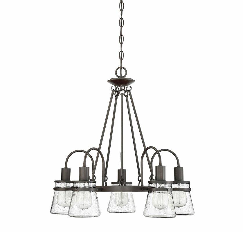 Gracie Oaks Wyble 5-Light LED Chandelier & Reviews | Wayfair