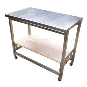Prep Table with Stainless Steel Top by Oa..