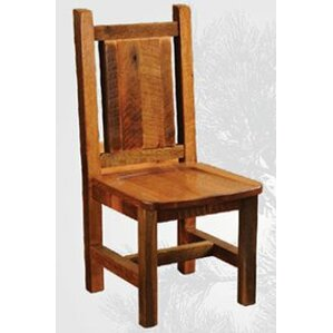 Artisan Barnwood Solid Wood Dining Chair by Fireside Lodge