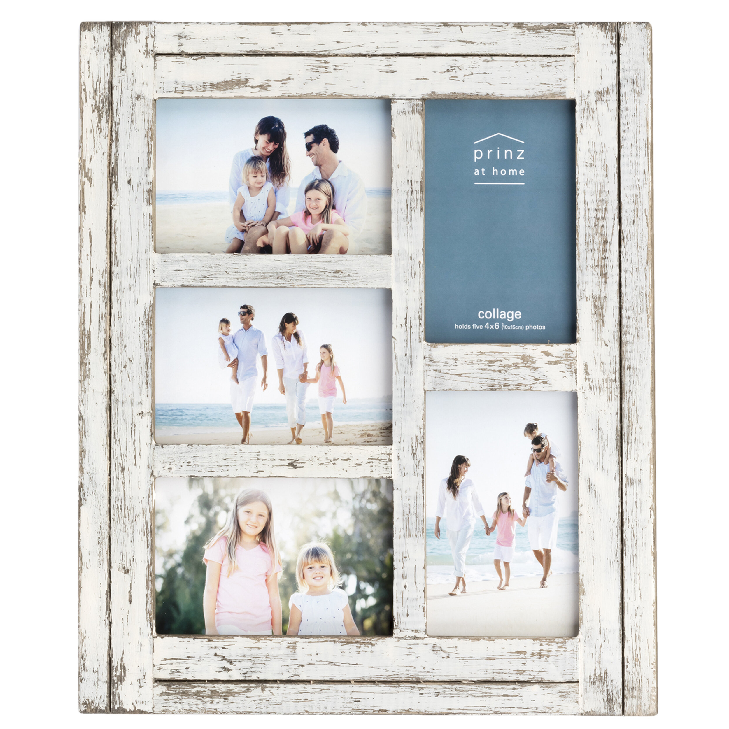 Prinz Water\'s Edge 5 Opening Homestead Wood Collage Picture Frame ...