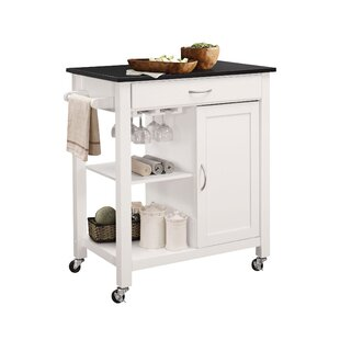 Lanier Kitchen Cart with MDF Top