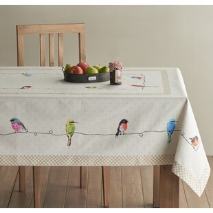 Delicieux Birdies On Wire Tablecloth