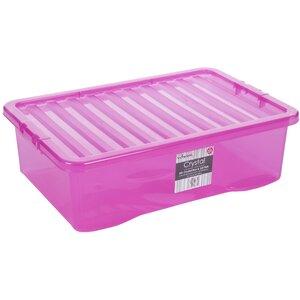 4-tlg. Aufbewahrungsbox Crystal aus Kunststoff von Wham