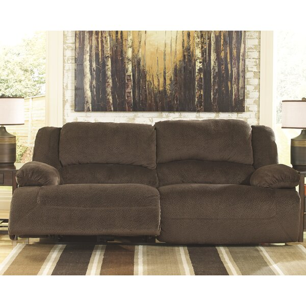 Alcott Hill Malta Double Seat Reclining Sofa | Wayfair