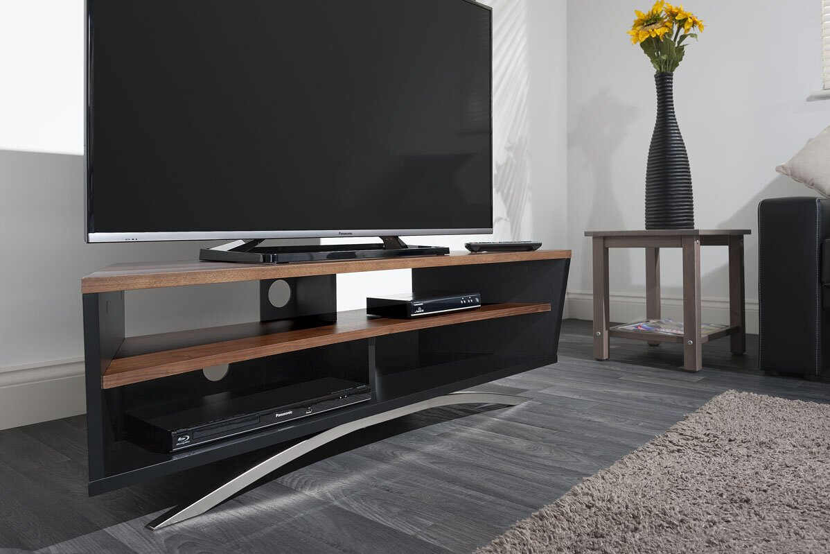 techlink tv regal prisma f r fernseher bis 50. Black Bedroom Furniture Sets. Home Design Ideas