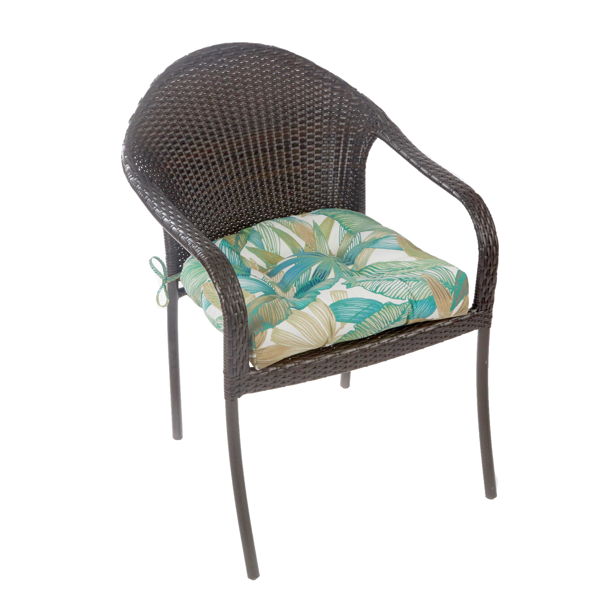 Klear Vu Indoor Outdoor Patterned Extra Large Lounge Chair Cushion Wayfair