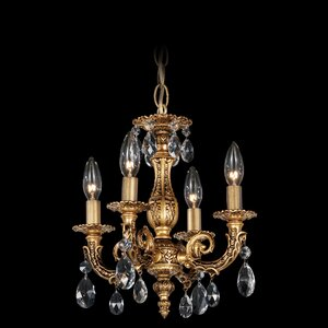 Milano 4-Light Candle-Style Chandelier