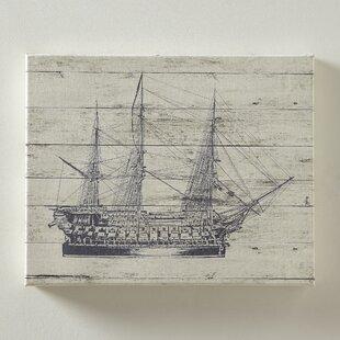 Vintage Ship Wall Art