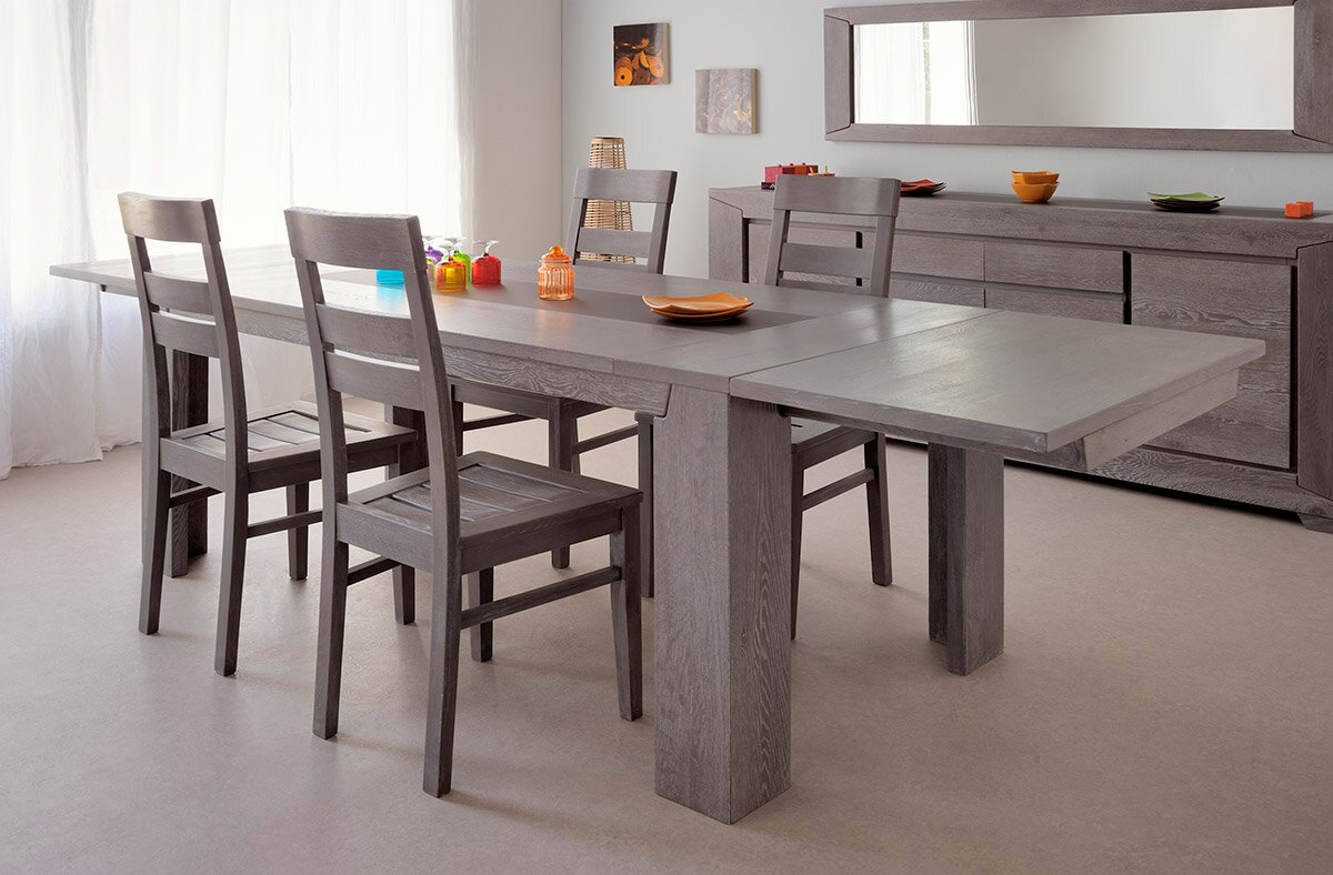 parisot titan extendable dining table reviews wayfair
