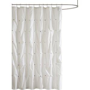 grey linen shower curtain. Marie Shower Curtain Curtains  Joss Main