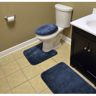 Navy Blue Bathroom Rugs Wayfair