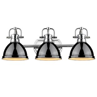 Black Vanity Lights Youll Love Wayfair - Bathroom light fixtures wayfair