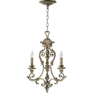 Barcelona 3-Light Candle-Style Chandelier