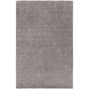 Racine Hand-Loomed Charcoal Area Rug