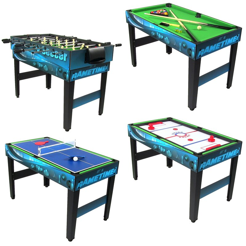 Lovely 10 In 1 Multi Game Table