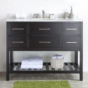 18 inch deep bathroom vanity | wayfair