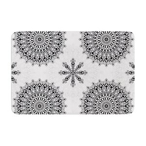 Mandala by Julia Grifol Memory Foam Bath Mat