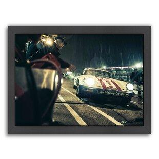 Charming Harley Davidson Framed Photographic Print