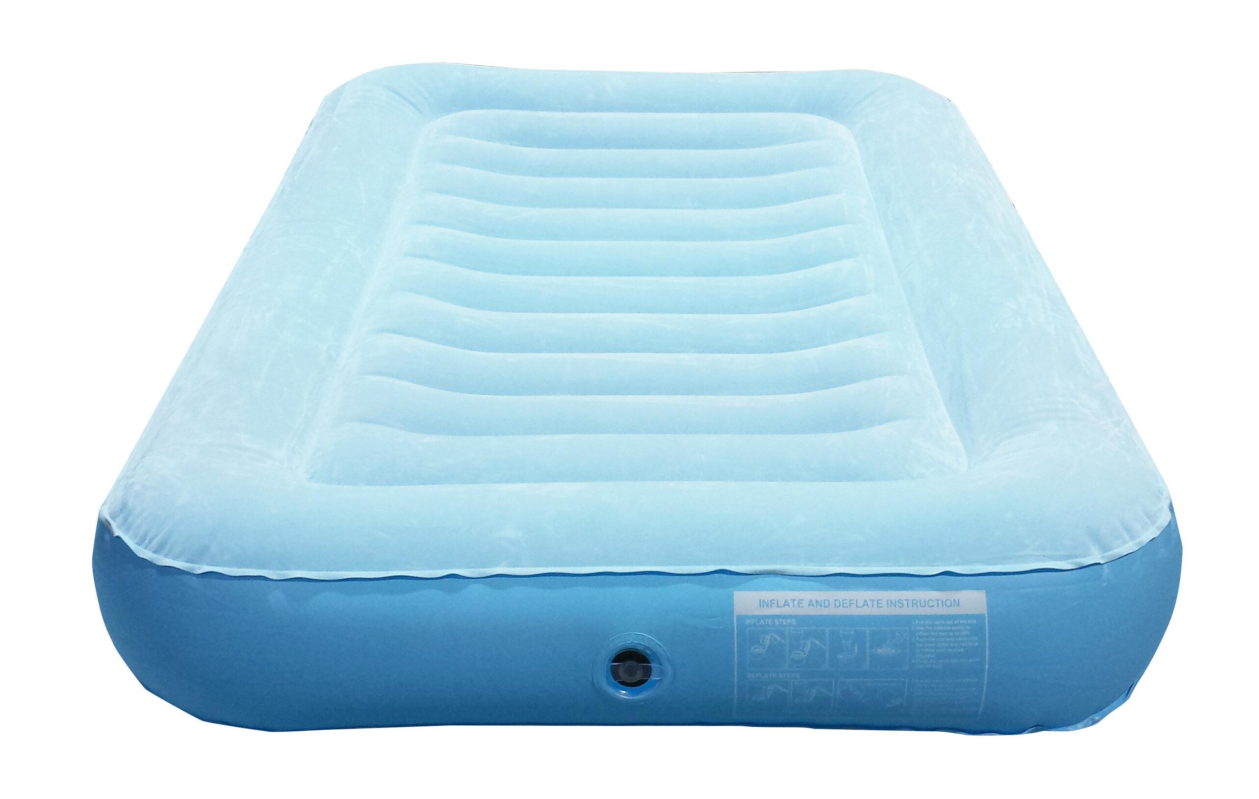 inflatable pump itm rest pillow intex w durabeam deluxe air resource mattress bed full