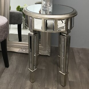 Antique Mirrored Side Tables Wayfaircouk - Wayfair mirrored side table