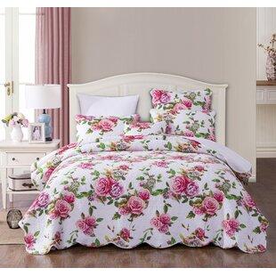 Vintage Rose Quilt   Wayfair