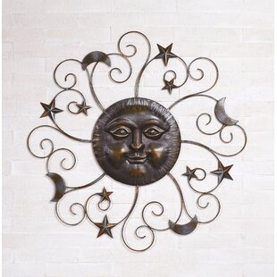 Metal Sun Wall Decor Wayfair