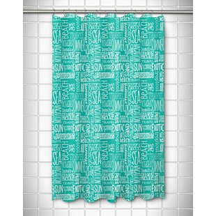 Captivating Shower Curtain With Words | Wayfair