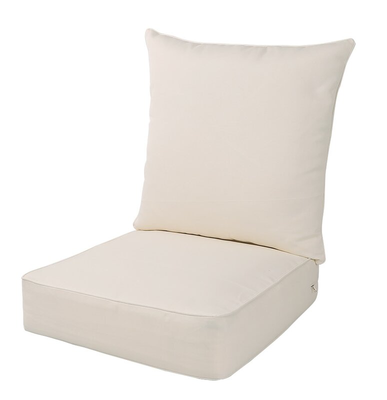 Indoor/Outdoor Deep Seat Chair Cushion
