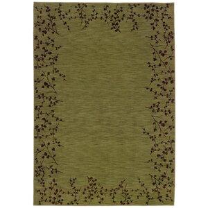 Ryles Green/Brown Area Rug