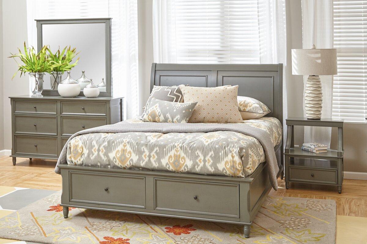 beatrice queen platform configurable bedroom set reviews joss main. Black Bedroom Furniture Sets. Home Design Ideas