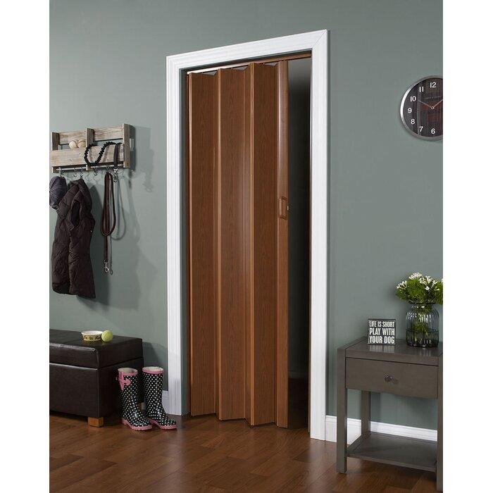 Homestyle Vinyl Accordion Interior Door