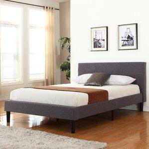 Mirella Upholstered Platform Bed by Zipcode Design