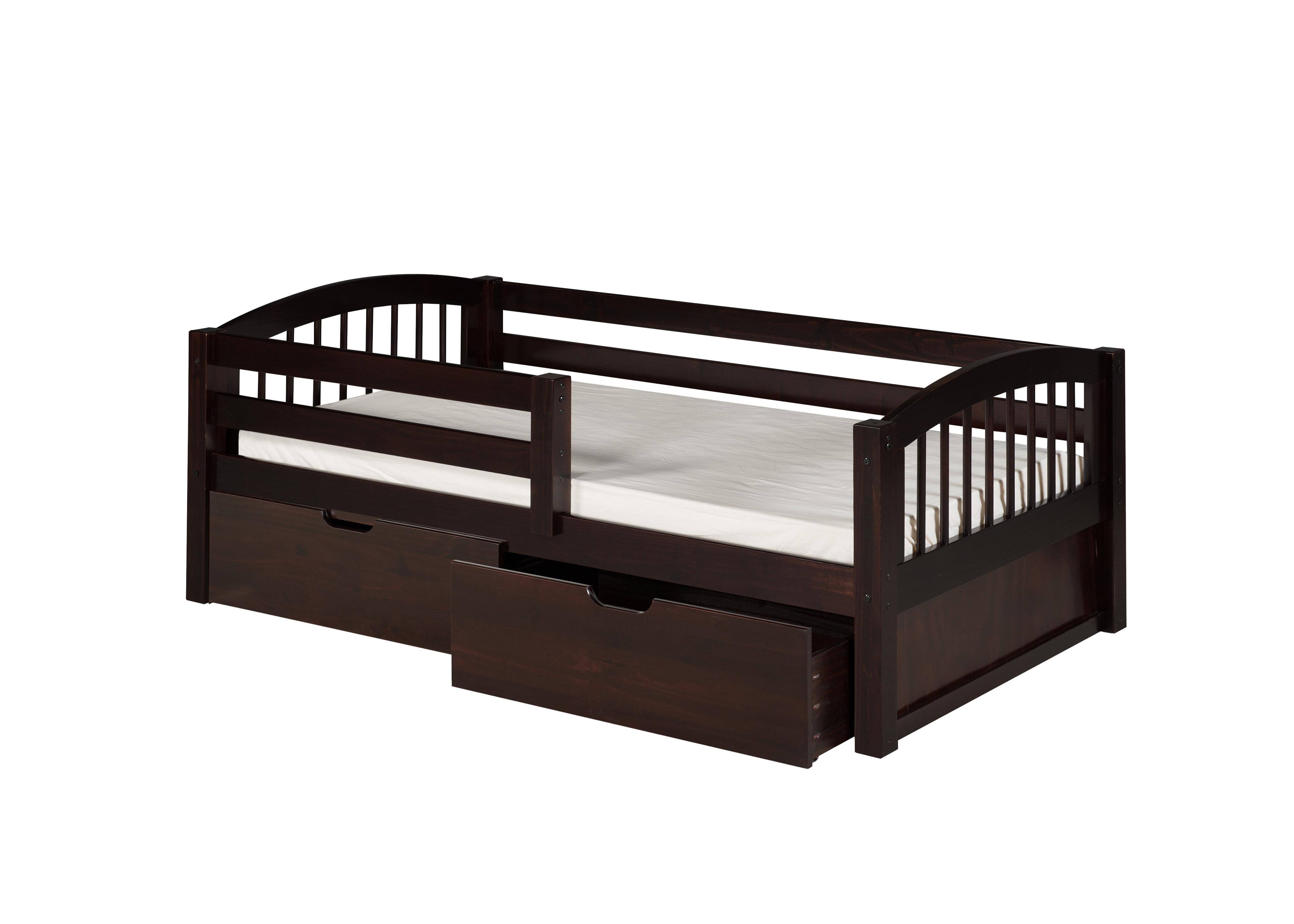 Rabon Twin Convertible Toddler Bed