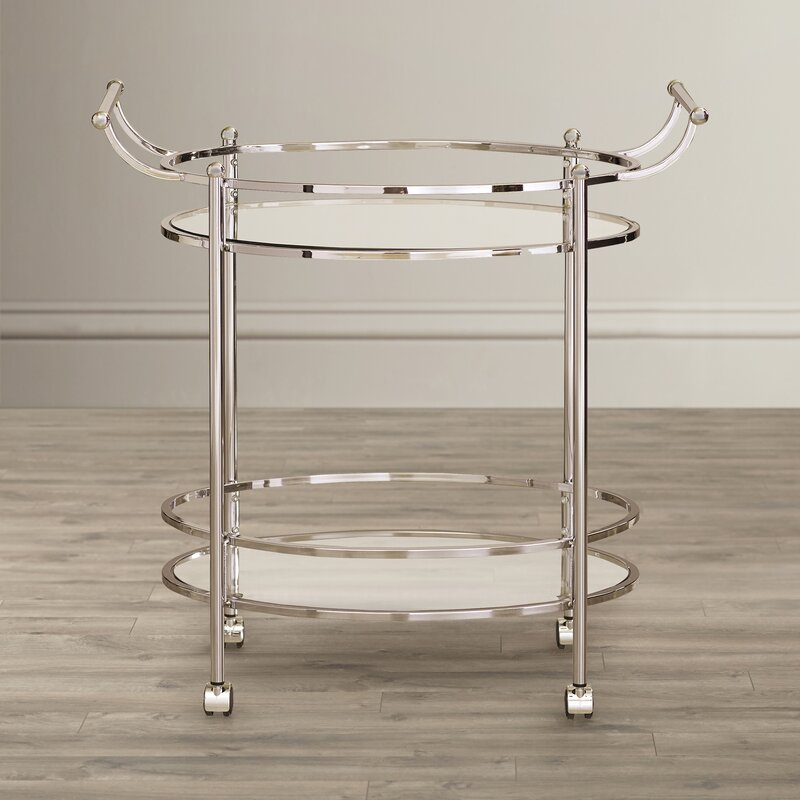 Wade Logan Pruitt Bar Cart Reviews Wayfair