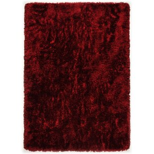 Young Fashion Handwoven Red Rug by Theko