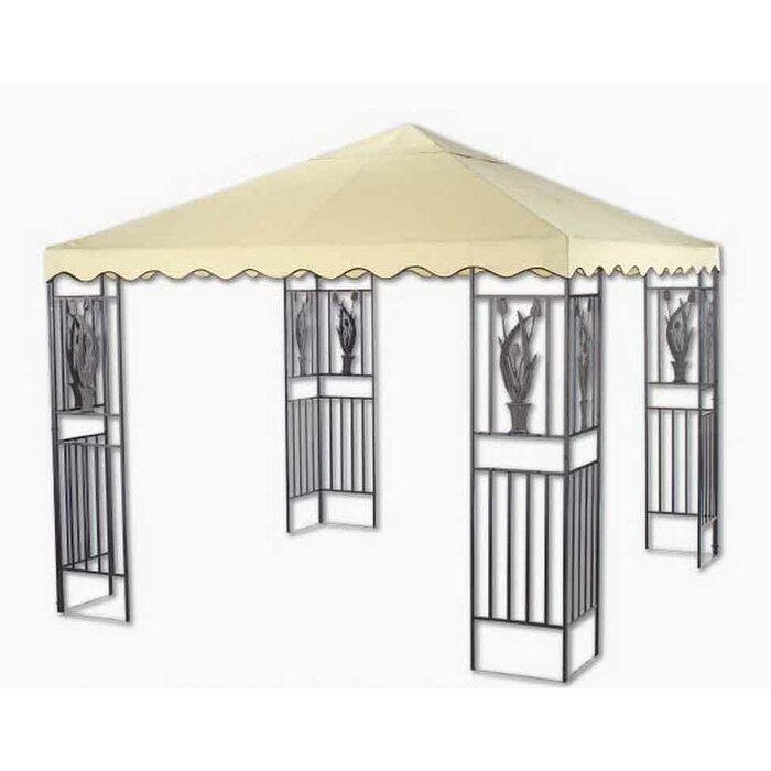 Replacement Canopy For 10 W X D Tulip Gazebo