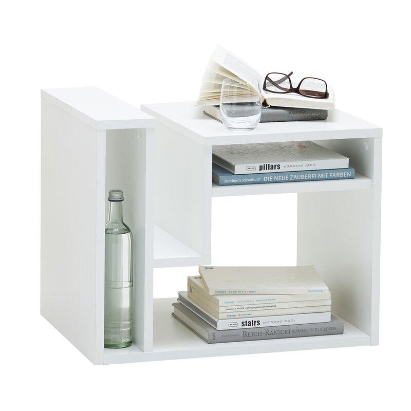fmd beistelltisch fritz mit stauraum bewertungen. Black Bedroom Furniture Sets. Home Design Ideas