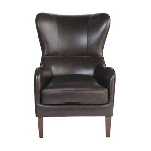 Wingback Leather Chairs Youu0027ll Love   Wayfair