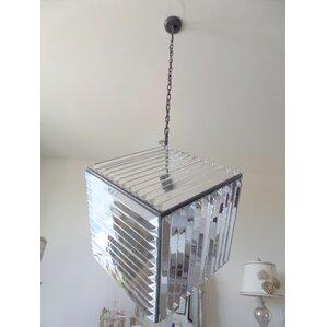 4light crystal chandelier
