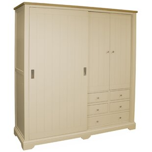 Wardrobes Home, Furniture & Diy Practical Kids Brooklyn Short 2 Door Wardrobe White